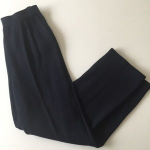 St John Basics Santana Knit Pants blue size 6